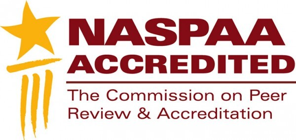 NASPAA Accredited The Commission on Peer Review & Accreditation