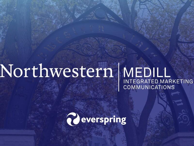 Northwestern University Medill and Everspring logo
