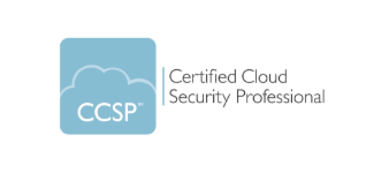 CCSP cloud security professional certification badge