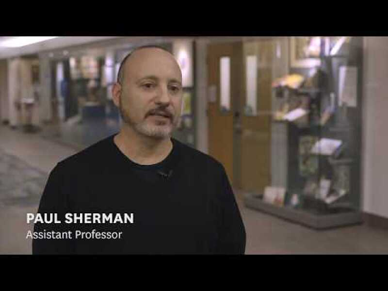 UX Design Degree Experience with Paul Sherman