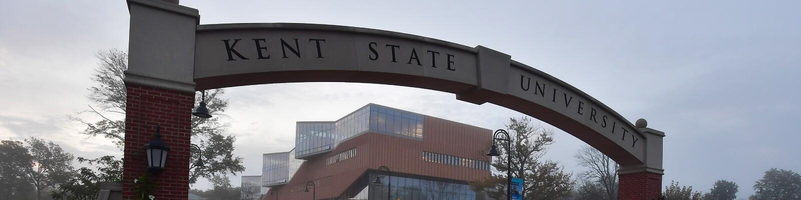 Kent State University archway