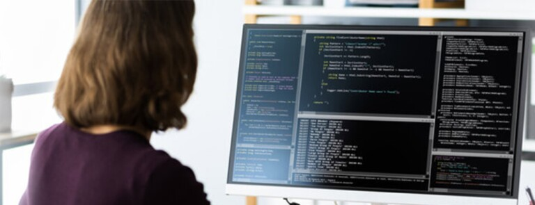 woman-working-on-code