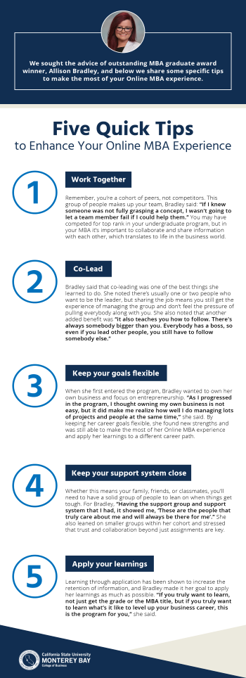 5 Pieces of Advice From Outstanding Student