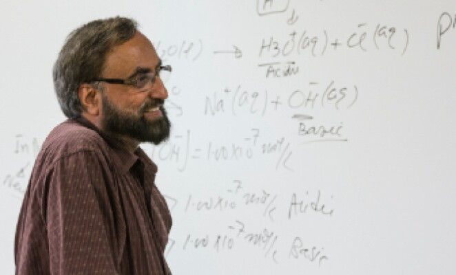 Kent State faculty in classroom