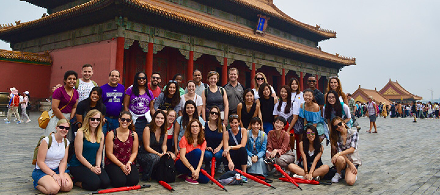 Medill IMC students abroad in Asia