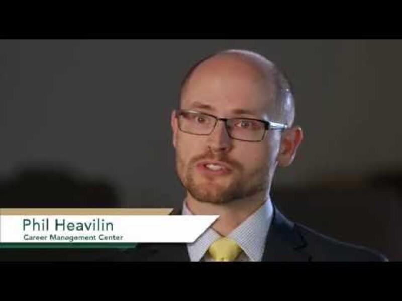 Phil Heavilin - Graduate Career Management Center Overview