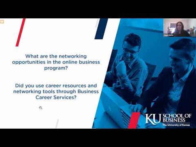 From Our Students: How the KU online MBA helped advance my career.