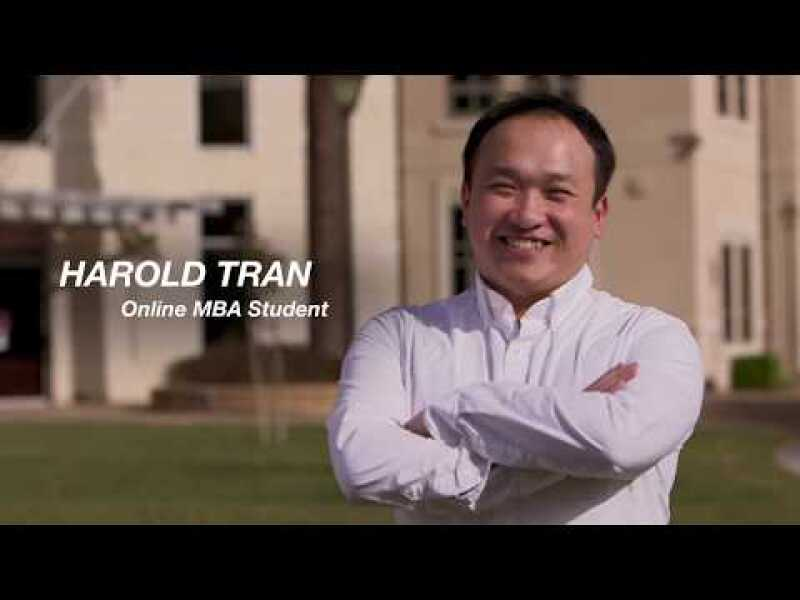 Voices of the Online MBA: Harold Tran