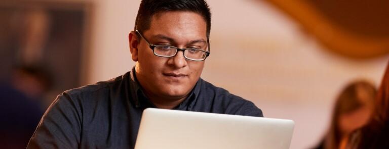 Student-focused-on-computer