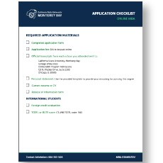 CSUMB Online MBA Application Checklist