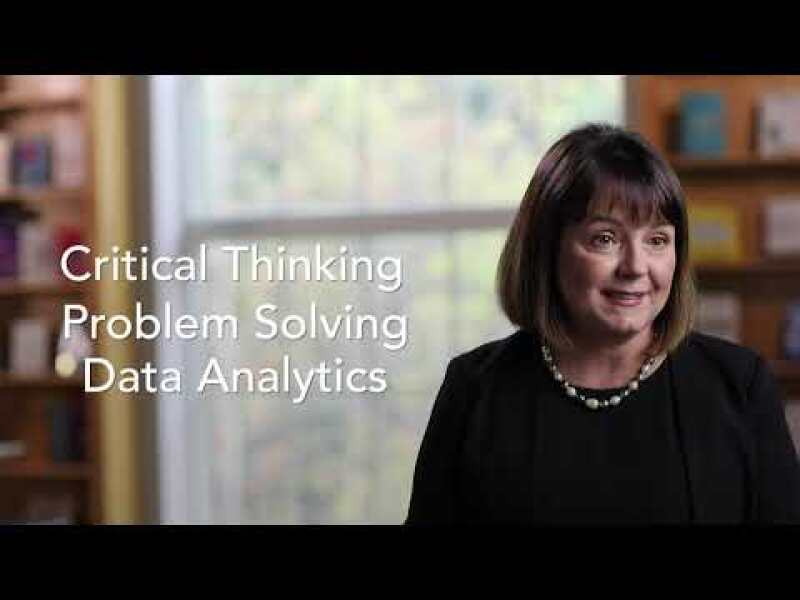 Master Critical Thinking and Data Analytics Online at W&M