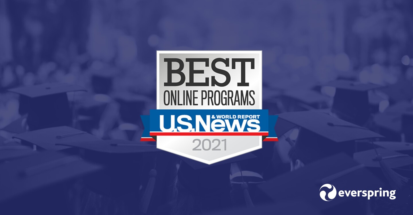 U.S. News & World Report's Best Online Programs badge