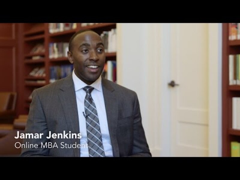 Jamar Jenkins, Army Captain, Discusses the William & Mary Online MBA