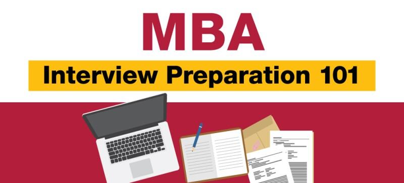 Blog MBA Interview Preparation 101