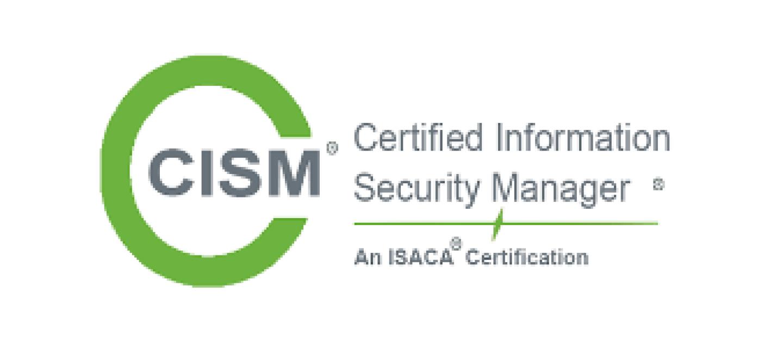 CISM certification badge