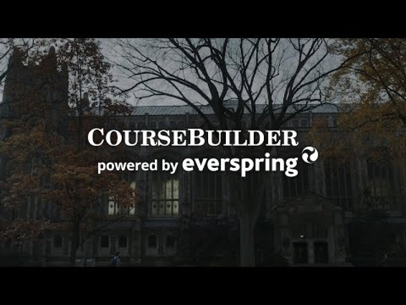 CourseBuilder powered by Everspring