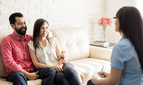 Couple-Meets-With-Counselor