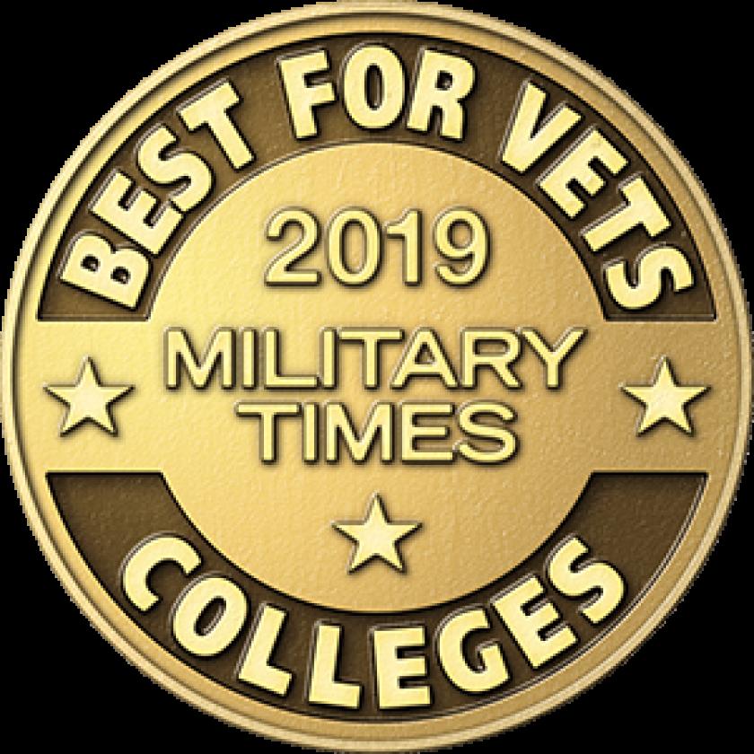 2019 Best For Vets Badge